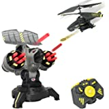 AirHogs 6017519 - Battle Tracker, ferngesteuerter Hubschrauber mit Abschussstation