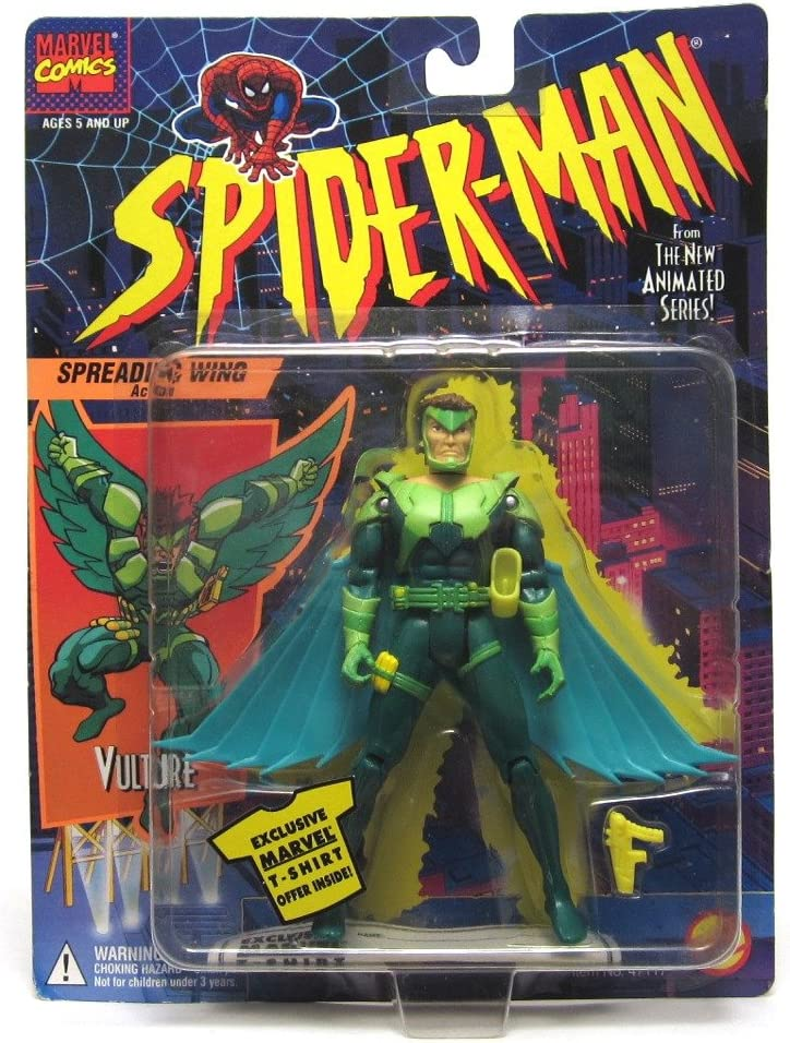 1994 ToyBiz Spiderman The Animated Series Action Figures Variety Lot Spider-Man