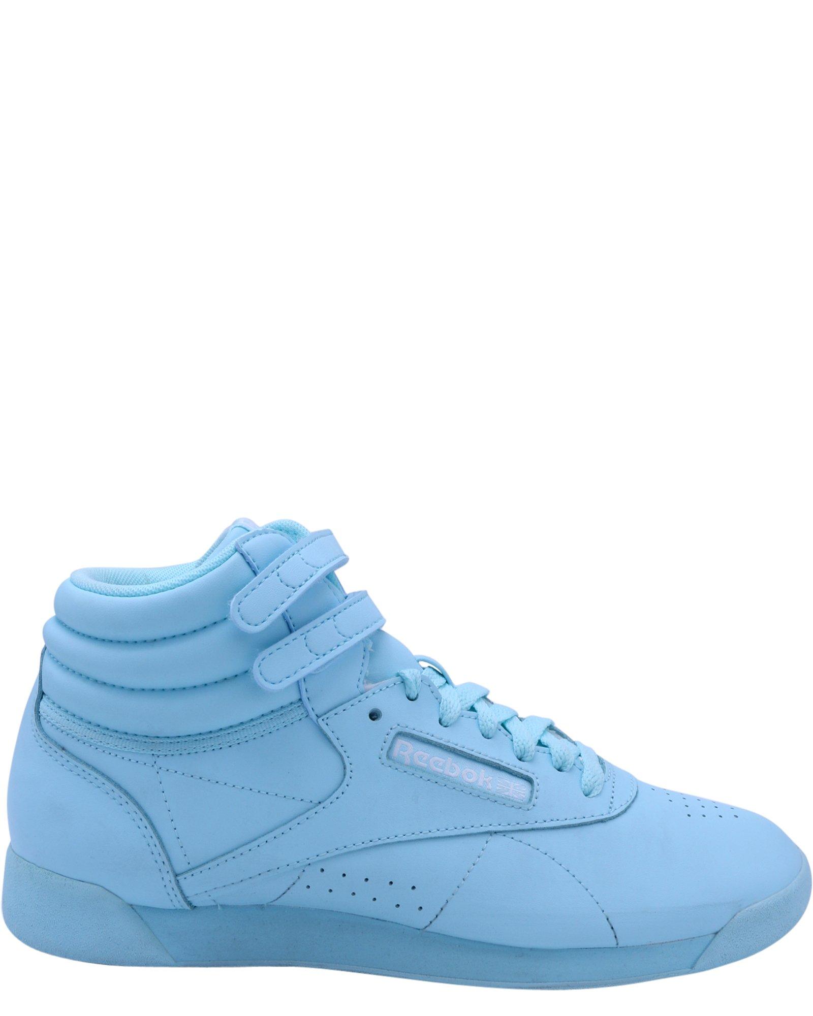 Reebok Women's F/S Hi Colors Sneaker, Blue Lagoon/White, 8.5 M US