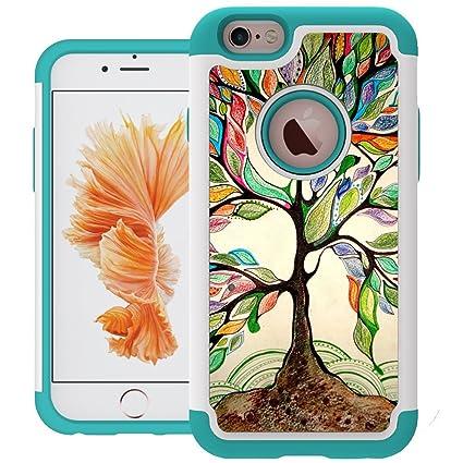 Amazon.com: iPhone 6S estuche, iPhone 6 caso, UrSpeedtekLive ...
