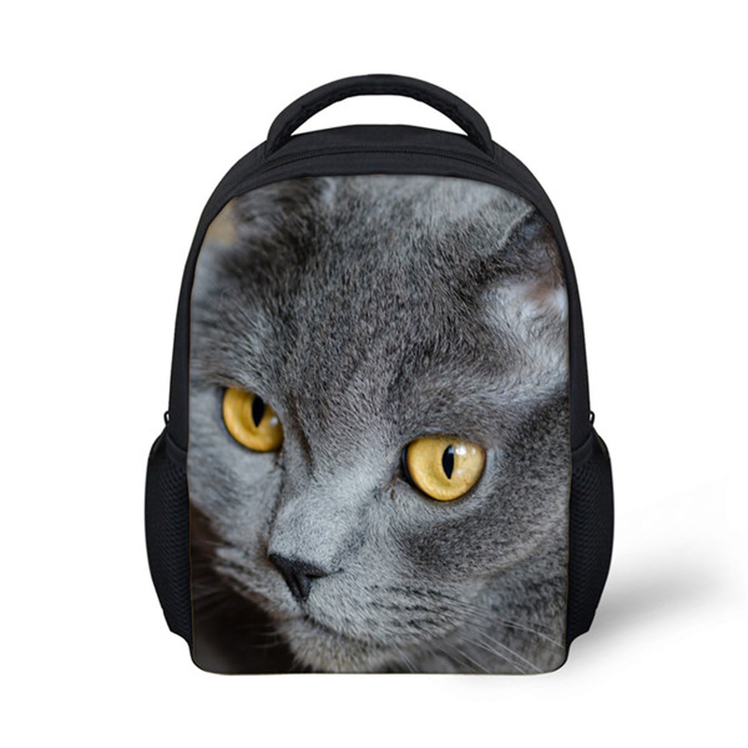 Amazon.com | 3D Cat Animal Children Casual Backpack Little Kids Shoulder School Bags Book Bagpack, H4552F | Kids Backpacks