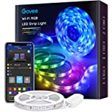 Govee Smart LED Light Strips, 16.4ft WiFi LED Strip Lights Work with Alexa and Google Assistant, Bright 5050 LEDs, 16…