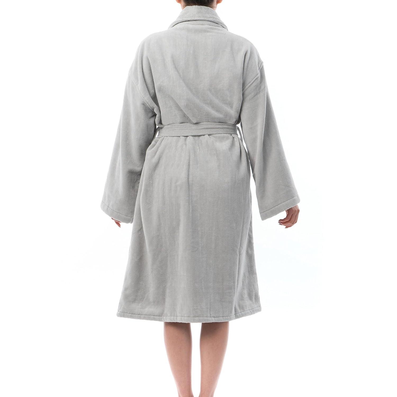 Alpine swiss blair womens cotton terry cloth bathrobe shawl collar velour spa  robe at amazon women e78ed08e2