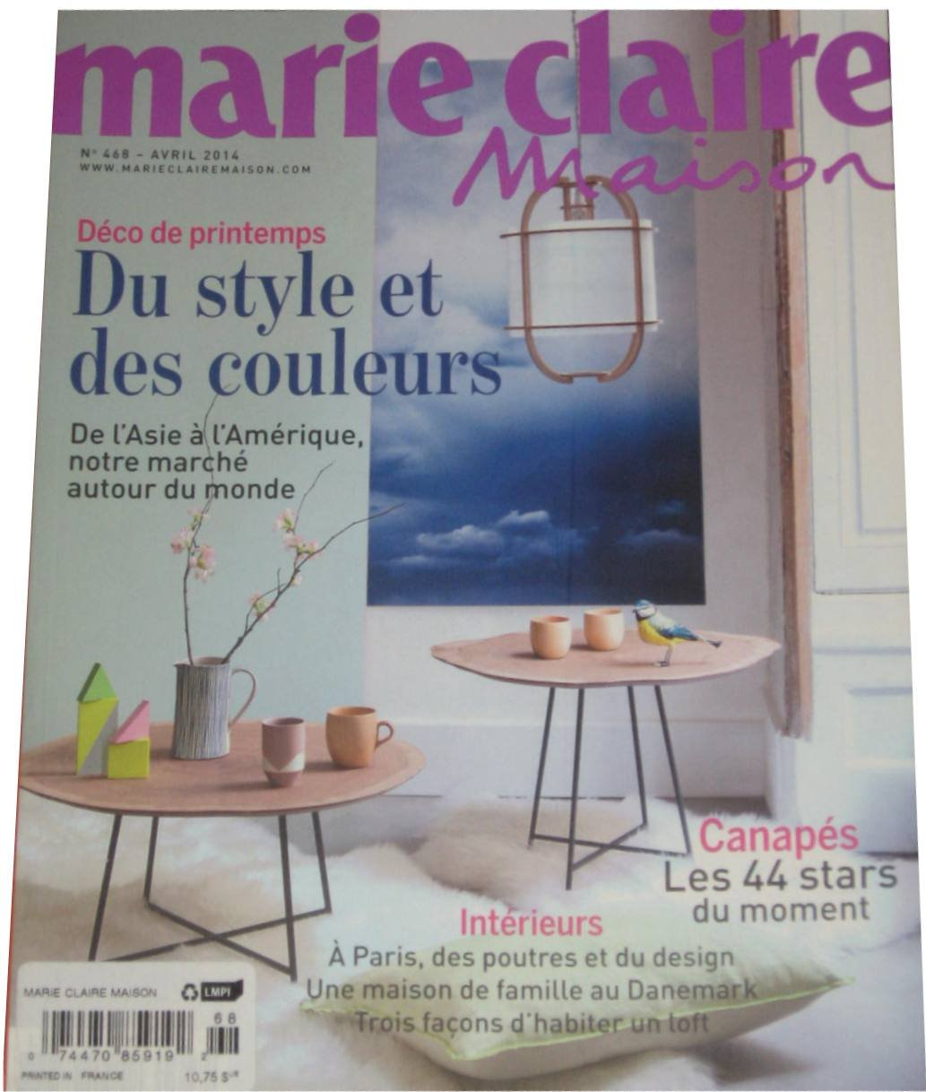 Marie Claire Maison: Avril 2014 (No. 468): Various: Amazon ...