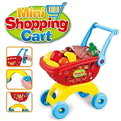 5aa46994a Toys Bhoomi Super Fun Mini Shopping Trolley with Toy Play Food Kitchen Set  Toys for Kids