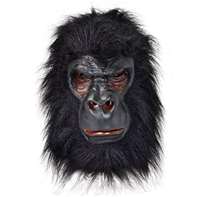 Bristol Novelty Gorilla Latex Mask, One Size: Toys & Games