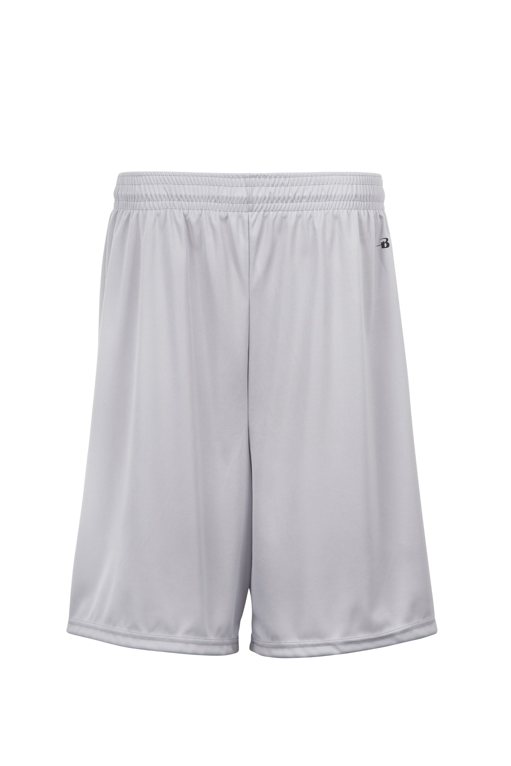 Badger Sportswear Boys' B-Dry Performance Short, Silver, Medium