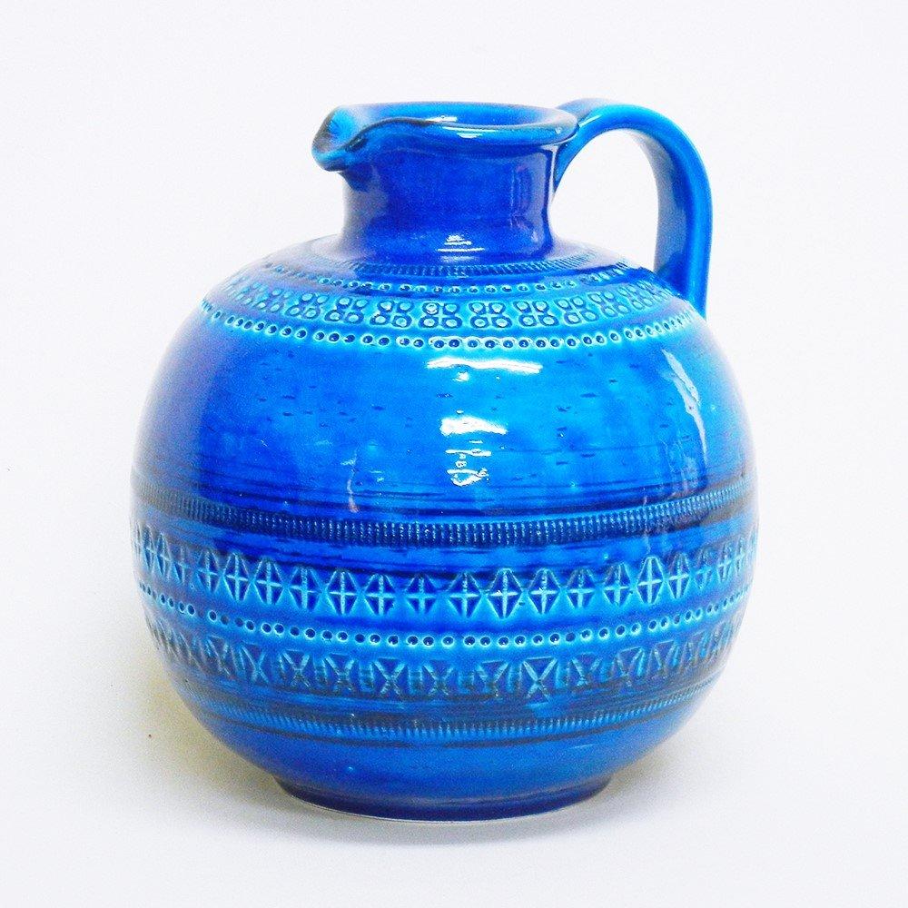 【BITOSSI(ビトッシ社) リミニブルー】 花瓶 18x18xH21cm / G9-F114 B01EHD37WI  Ф18XH21cm