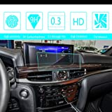 HD Screen Protector For 2016 2017 Lexus LX570 GPS Navigation System,Tempered Glass Protection Film Anti-Fingerprint Anti-Scratch Ultra-Thin Car Accessories