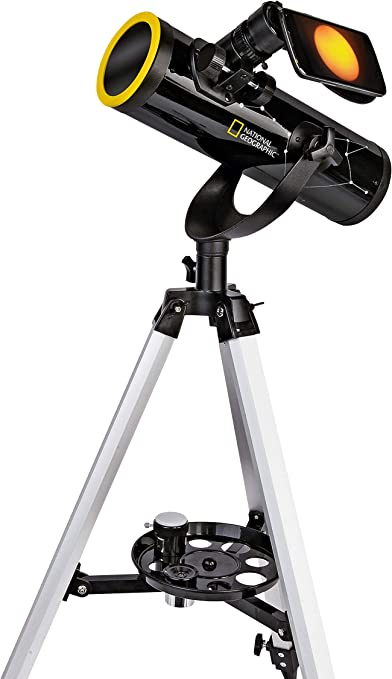 National Geographic 76/350 - Telescopio con trípode, Soporte para ...