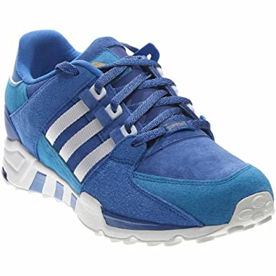 new styles d6a21 0ef1d adidas Mens Equipment Running Support Royal Blue Suede Size 10