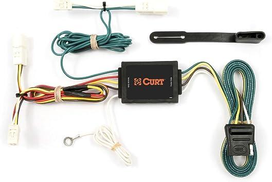 Amazon.com: CURT 55418 Vehicle-Side Custom 4-Pin Trailer Wiring Harness for  Select Toyota Sienna: AutomotiveAmazon.com