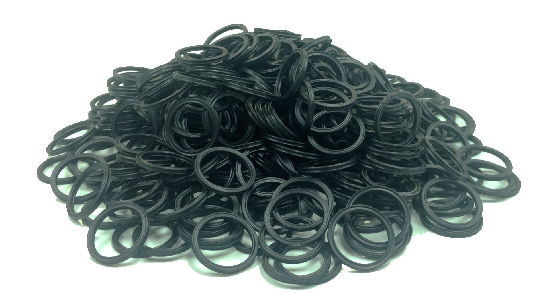 1//32 ID Round 90A Durometer 001 Viton O-Ring 1//32 Width Pack of 50 Black 3//32 OD