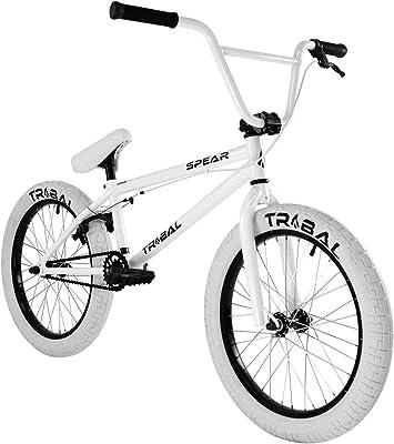 Tribal Spear - Bicicleta BMX, blanca: Amazon.es: Deportes y aire libre
