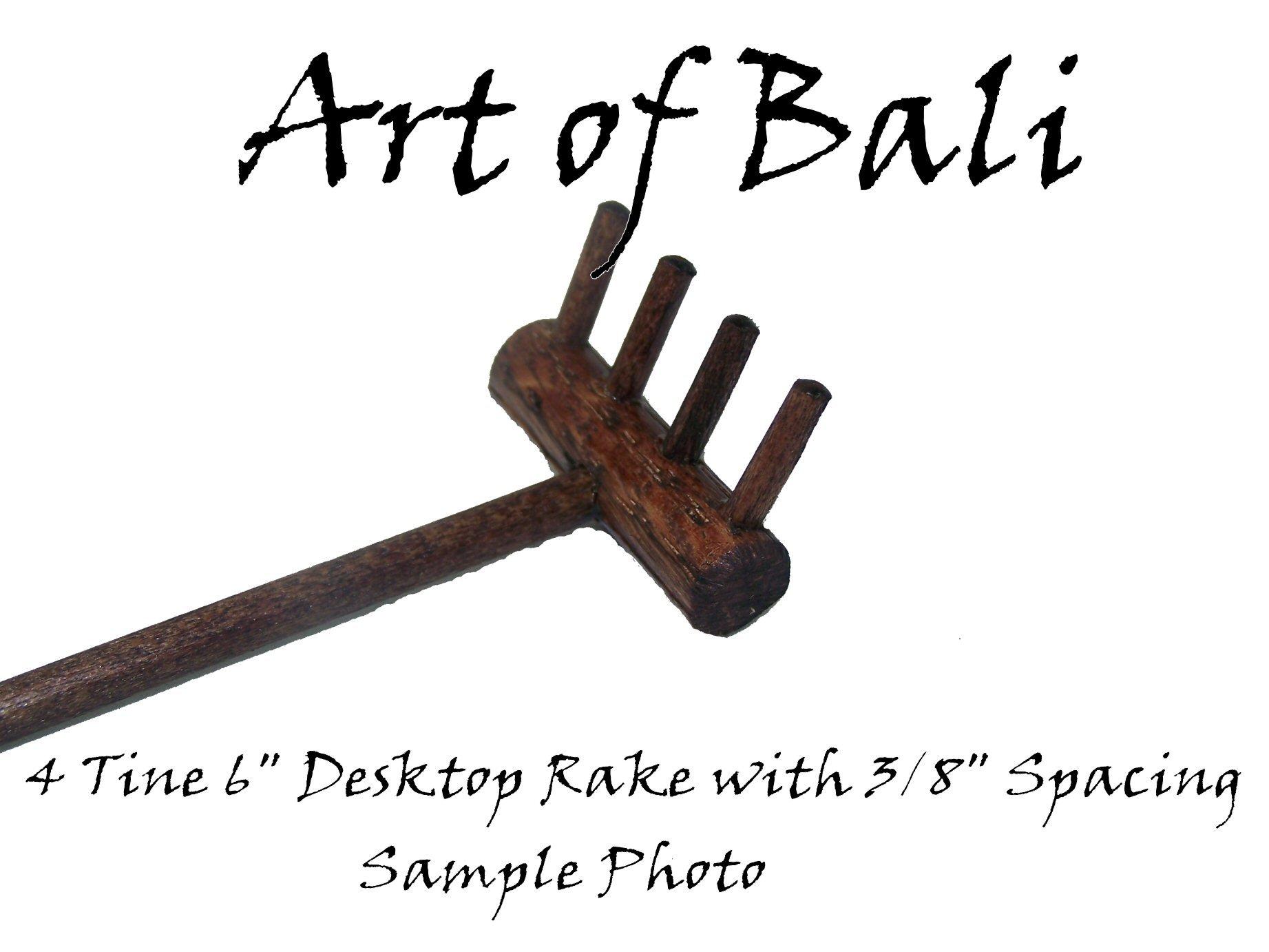 Art of Bali Zen Garden Rake 50 Pack Four Tine Desktop Rake - Zen Gardens by Art of Bali