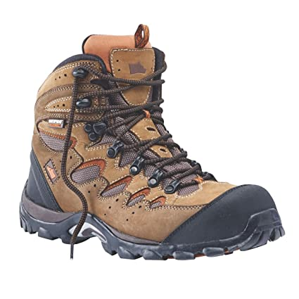5bb1c92c806 Hyena Eiger Comfort Safety Boots Brown Size 9: Amazon.co.uk: DIY & Tools