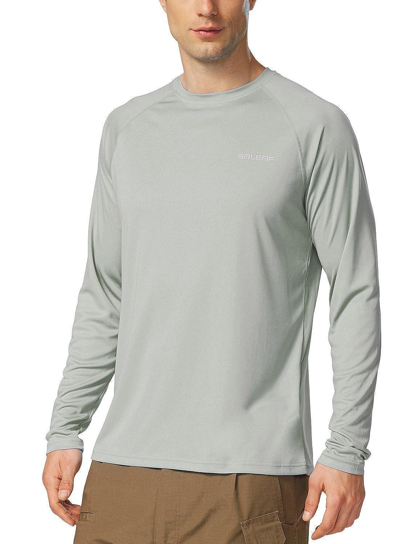 Baleaf Men's UPF 50+ UV Sun Protection Outdoor Running Performance T-Shirt
