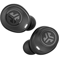 JLab JBuds Air True Wireless Signature Bluetooth Earbuds + Charging Case - Black - IP55 Sweat Resistance - Bluetooth 5.0…