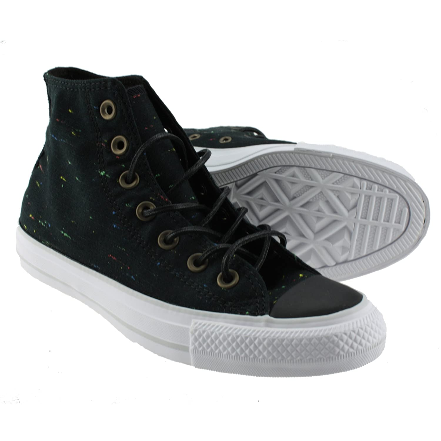 Converse Unisex Chuck Taylor All-Star High-Top Casual Sneakers in Classic Style and Color and Durable Canvas Uppers B01EHZHKNS 9.5 D(M) US|Black White