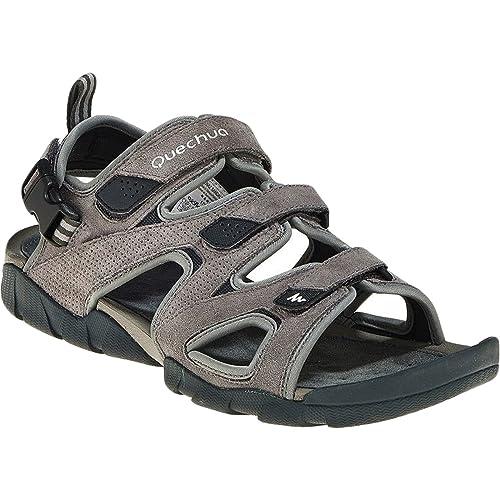 3fa420d01b3f Quechua 200 Grey Sandals Size - 7 UK  Amazon.in  Shoes   Handbags