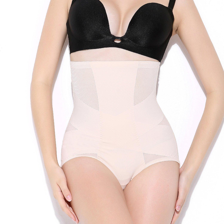 7f60ceeb4 MOVWIN Women s Shapewear Seamless Briefs Butts Lifter High Waist Sexy Body  Shaper Tummy Control Panties at Amazon Women s Clothing store