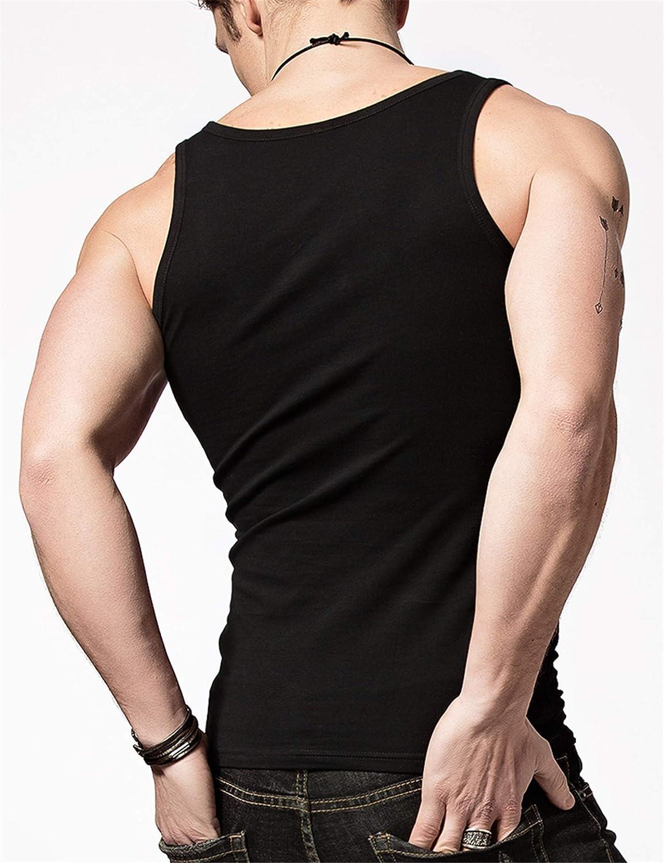 Chaleco Interior Hombre Adelgazante Sudor Shapewear Camiseta sin Mangas para Hombre Gym Ejercicio Camiseta Deportiva 2019