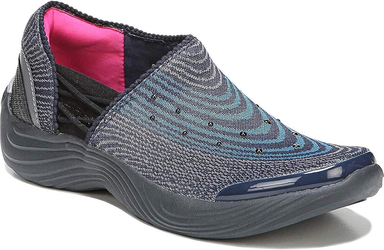 BZees Womens Tiger Slip On Sneaker