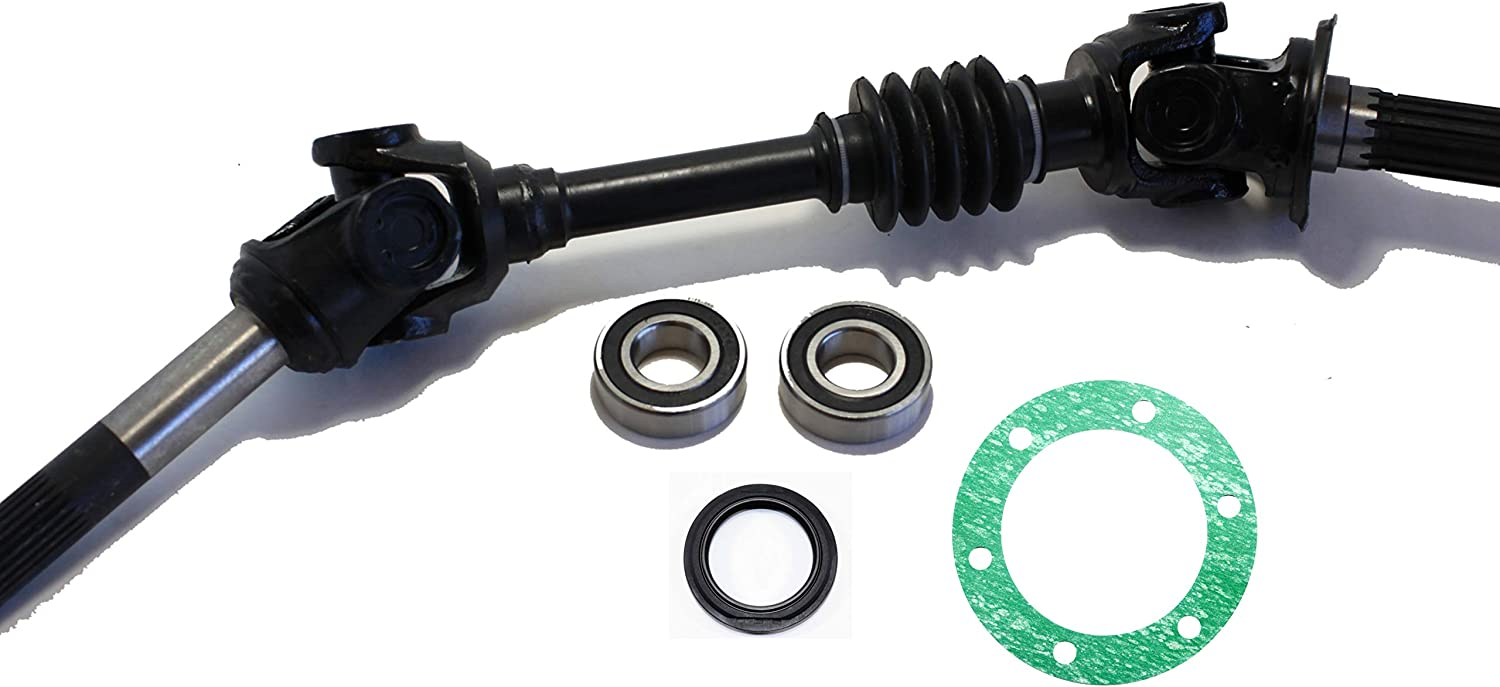 Rear Left /& Right Wheel Bearing Kit 1993-2000 Kawasaki Mule 2510 UTV
