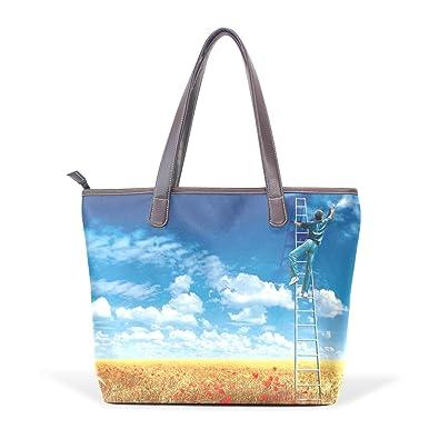 11d443c707c1 Image Unavailable. Image not available for. Color  Women s Designer  Handbags Leather Canvas ...