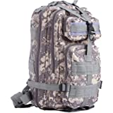 Z ZTDM Outdoor Tactical Molle Backpack Army Military Small Rucksacks 25L 3 Day Assault Pack for Camping Hiking Trekking Waterproof