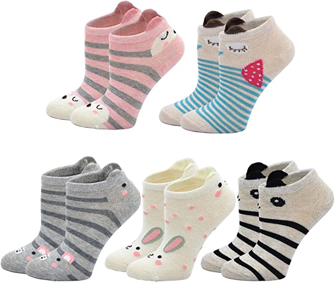 Kids casual sneaker slip on ankle crib shoe cute first walkers Cute Funny Christmas Cats