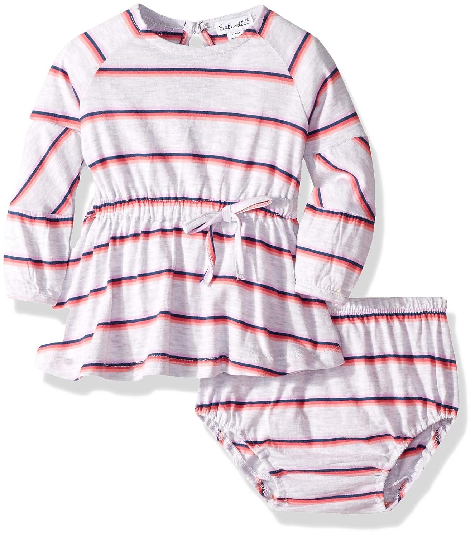 Splendid Baby and Toddler Girls Dress Set Short /& Long-Sleeve