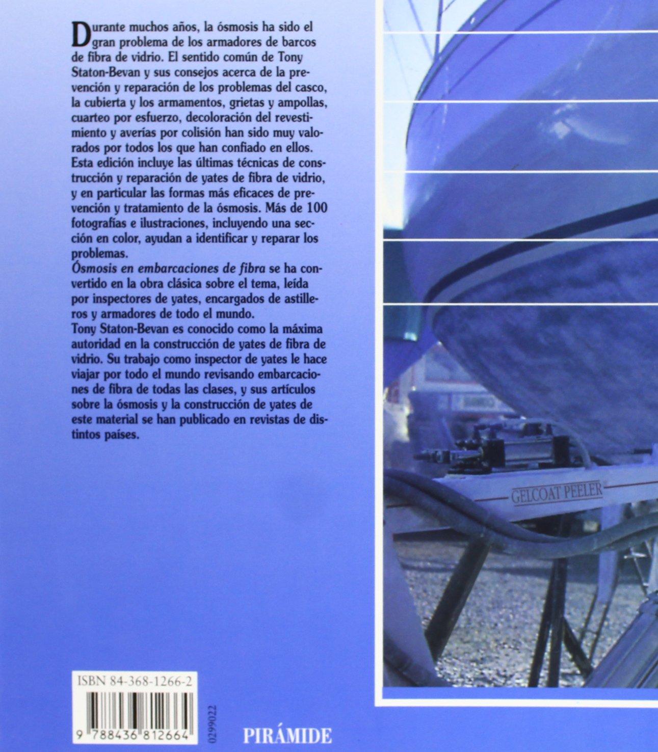 OSMOSIS EN ENBARCACIONES DE FIBRA náutica CONTRAPORTADA