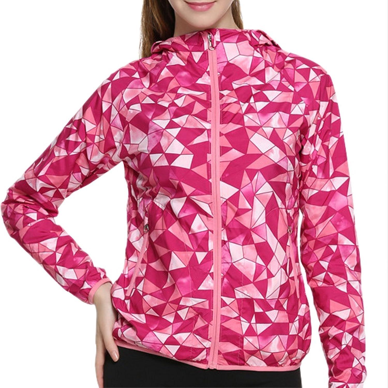 Beauty_yoyo Women Rhodo Running Sport Jacket Coat Hoodie Full Zip-Up fashion Activewear