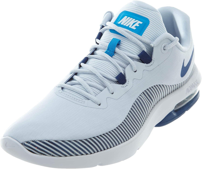 Running Shoes, Grey/Gym Blue-Blue Hero