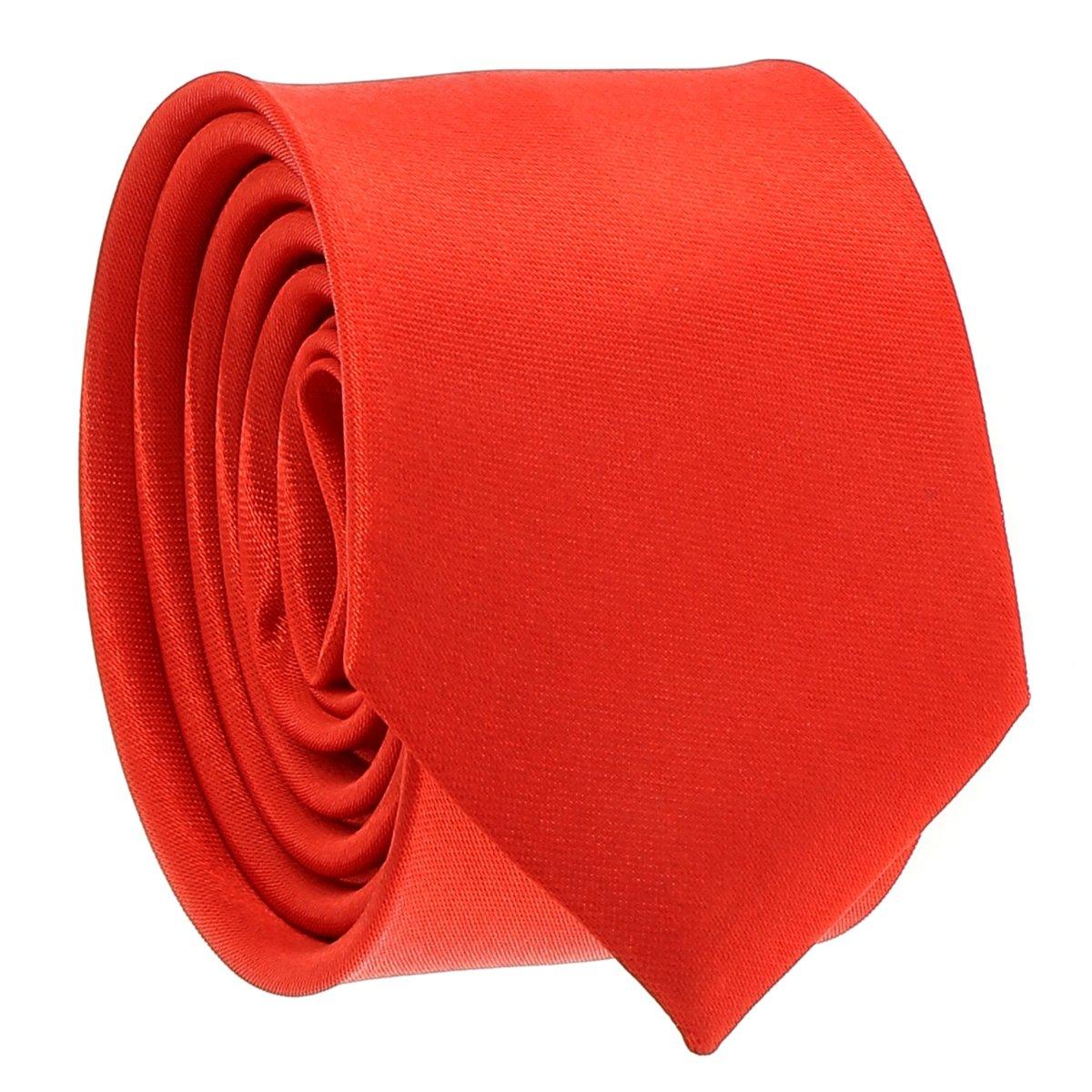 cravateSlim Corbata Estrecha Roja: Amazon.es: Ropa y accesorios