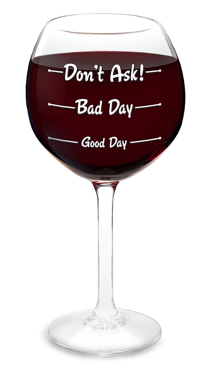 Bigmouth Inc. Fun wine glass Big Mouth Inc. BMWG-GB