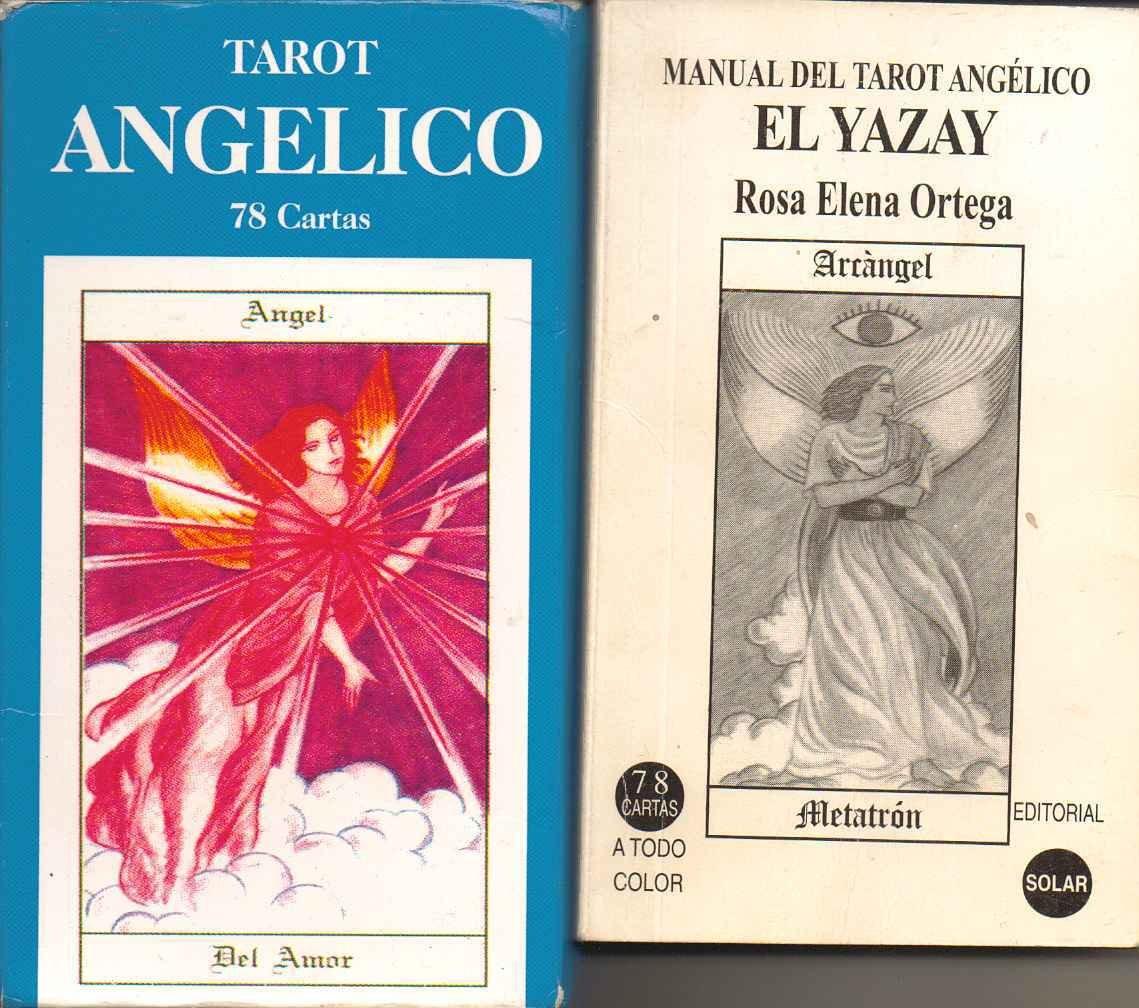 TAROT ANGELICO EL LIBRO DE LOS ANGELES: ORTEGA ROSA: Amazon ...