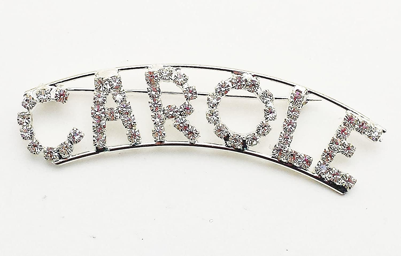 Detti Originals Personalized Rhinestone Name Carole with a Magnet Back