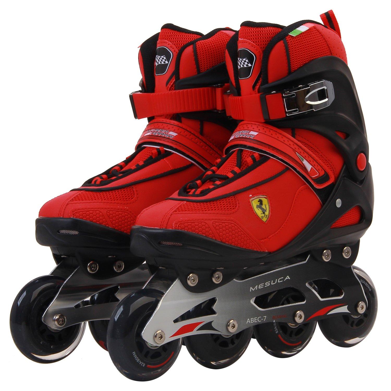 Ferrari Inline Skate Roller Skating Red/Black EU42/US Size 9