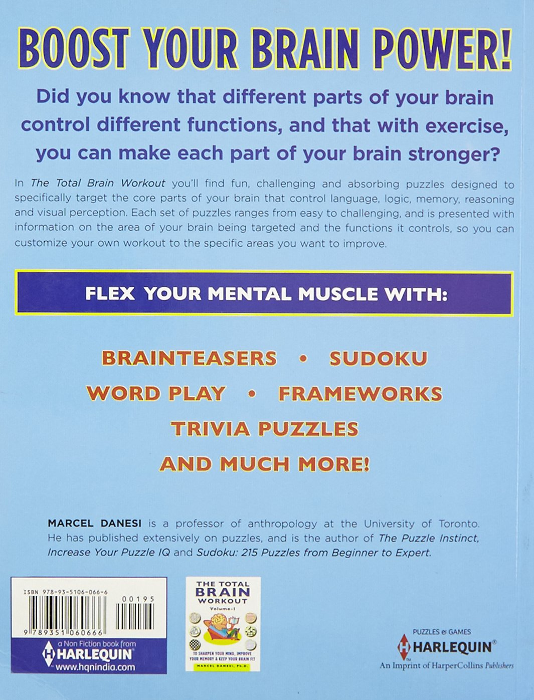 Buy Total Brain Workout-Vol-2 (Harlequin Non Fiction) Book
