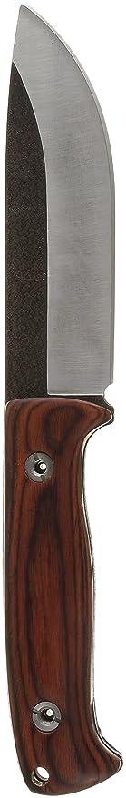 Elk Ridge ER555PW Cuchillo Tascabile,Unisex - Adulto, Marrón, un tamaño