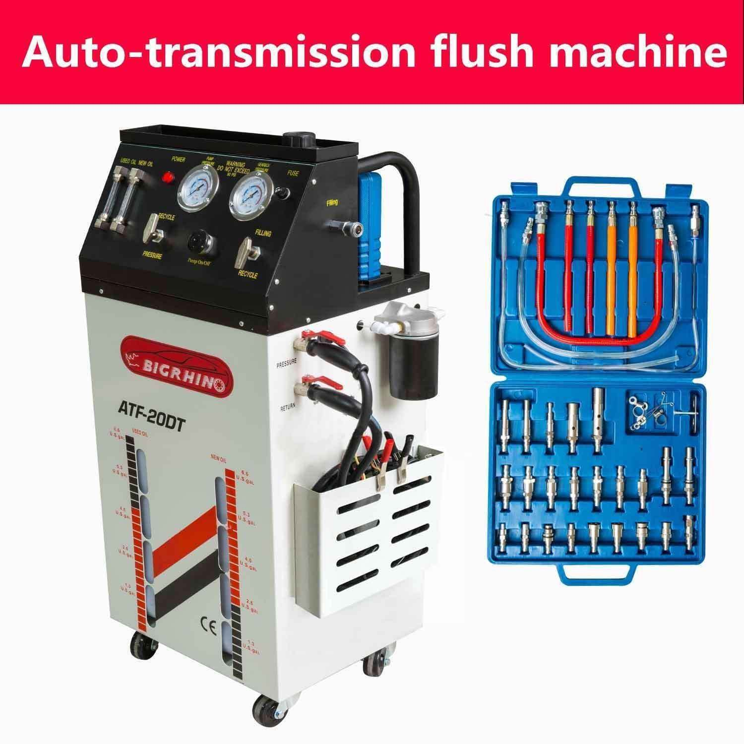 Cr BRAND NEW TRANSMISSION FLUID OIL EXCHANGE FLUSH CLEANING MACHINE by Cr