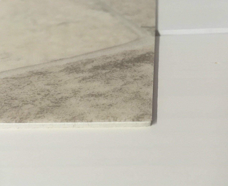 CV-Boden wird in ben/ötigter Gr/ö/ße als Meterware geliefert /& pflegeleicht Made in Germany CV PVC-Belag verf/ügbar in der Breite 400 cm /& L/änge 350 cm PVC Vinyl-Bodenbelag in Bruchstein hell Optik