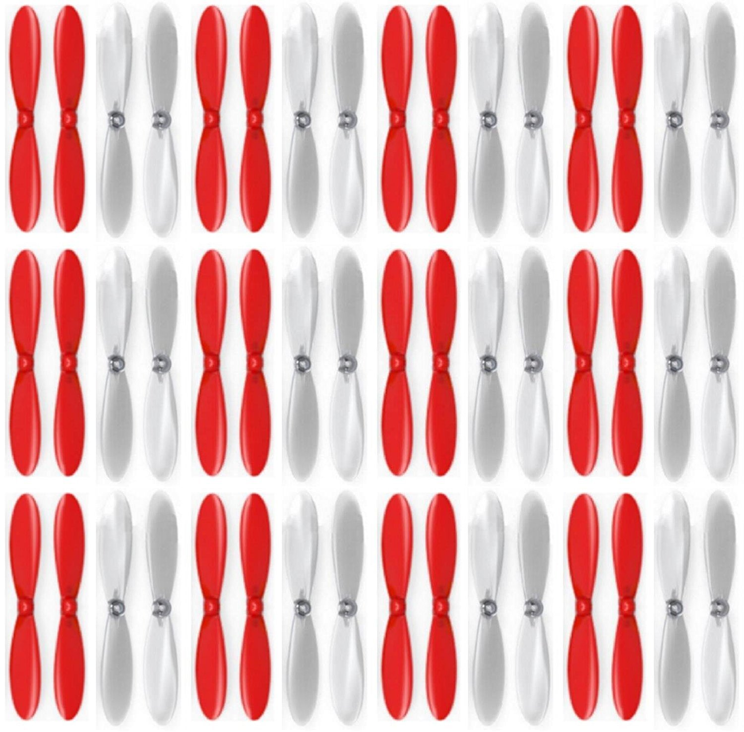 12 x Quantity of Estes Dart rosso Clear Propeller Blades Props Propellers Transparent - FAST FROM Orlando, Florida USA