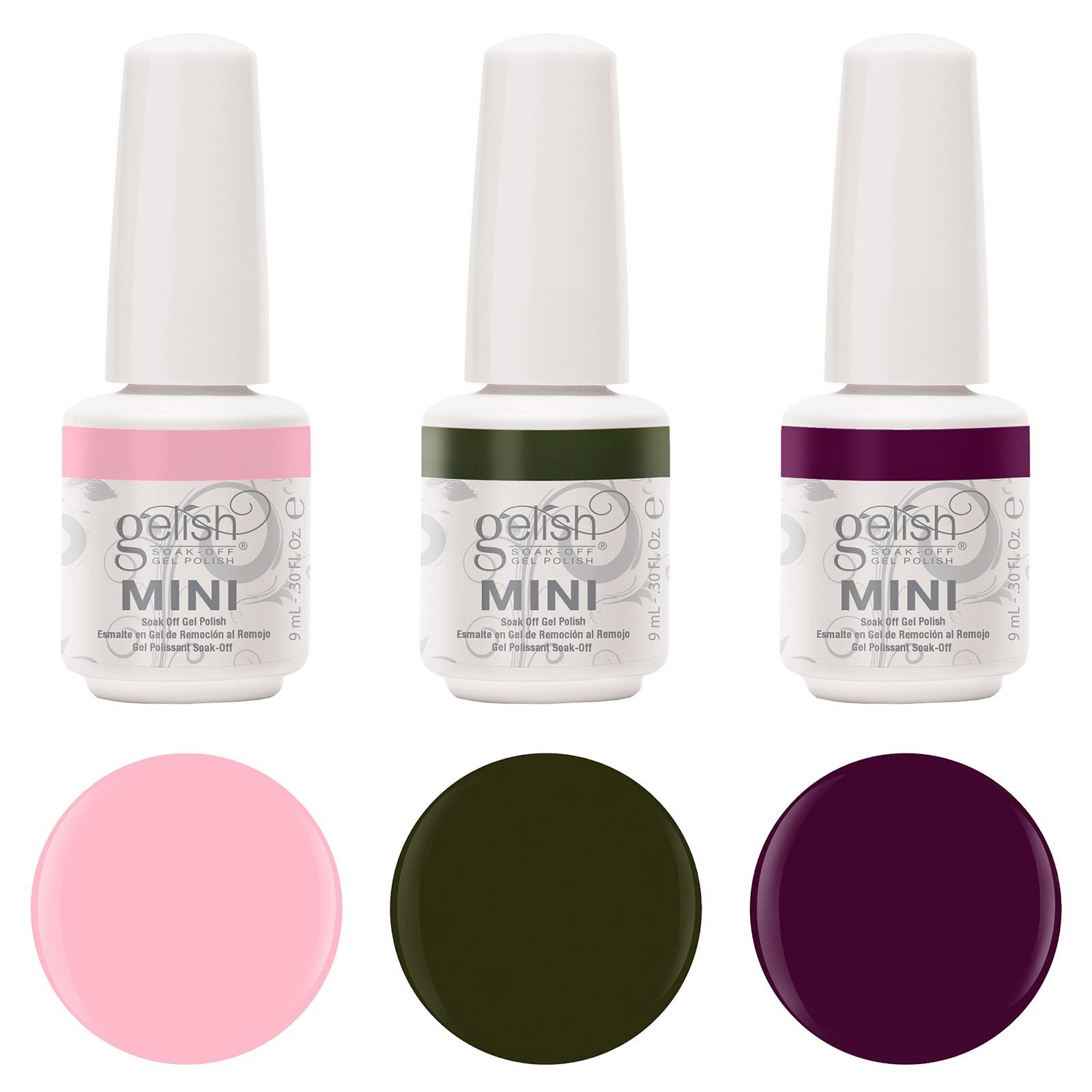 Gelish Harmony Complete Starter Led Gel Nail Polish Kit with 5 Additional Colors by Gelish (Image #3)