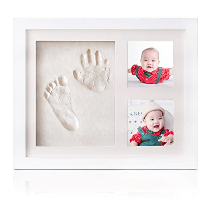 Baby Hand and Footprint Kit,Newborn Keepsake for Registry,Wooden ...