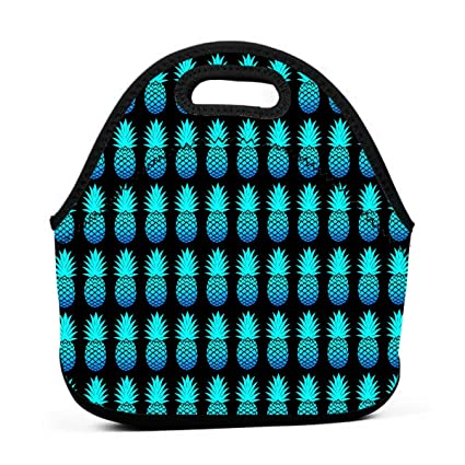 cb95e42e29a4 Amazon.com - WONDERMAKE Insulated Lunch Tote Bag Package Cool Blue ...