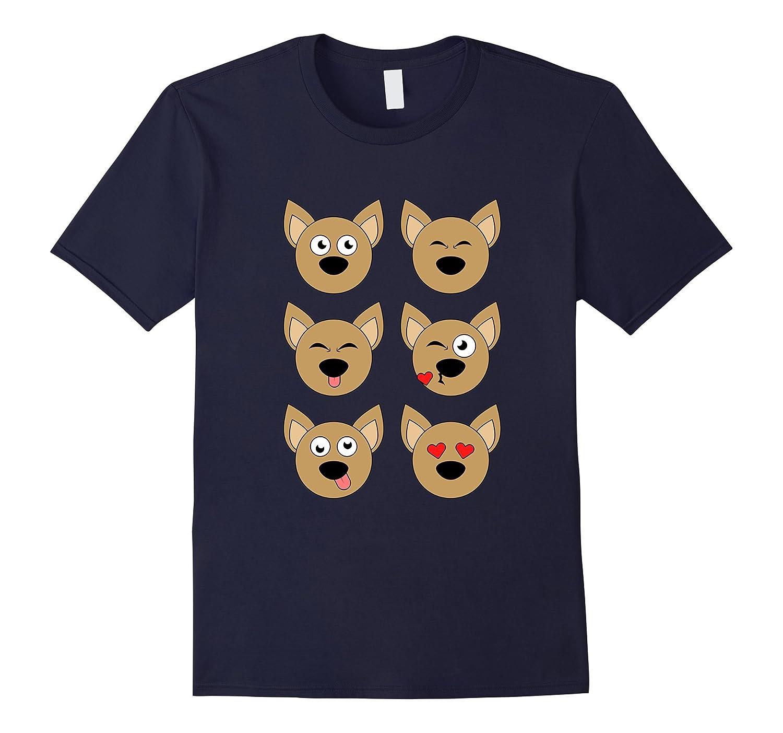 Funny Chihuahua Icons T-shirt Zoo Animal Meme Dog Lovers