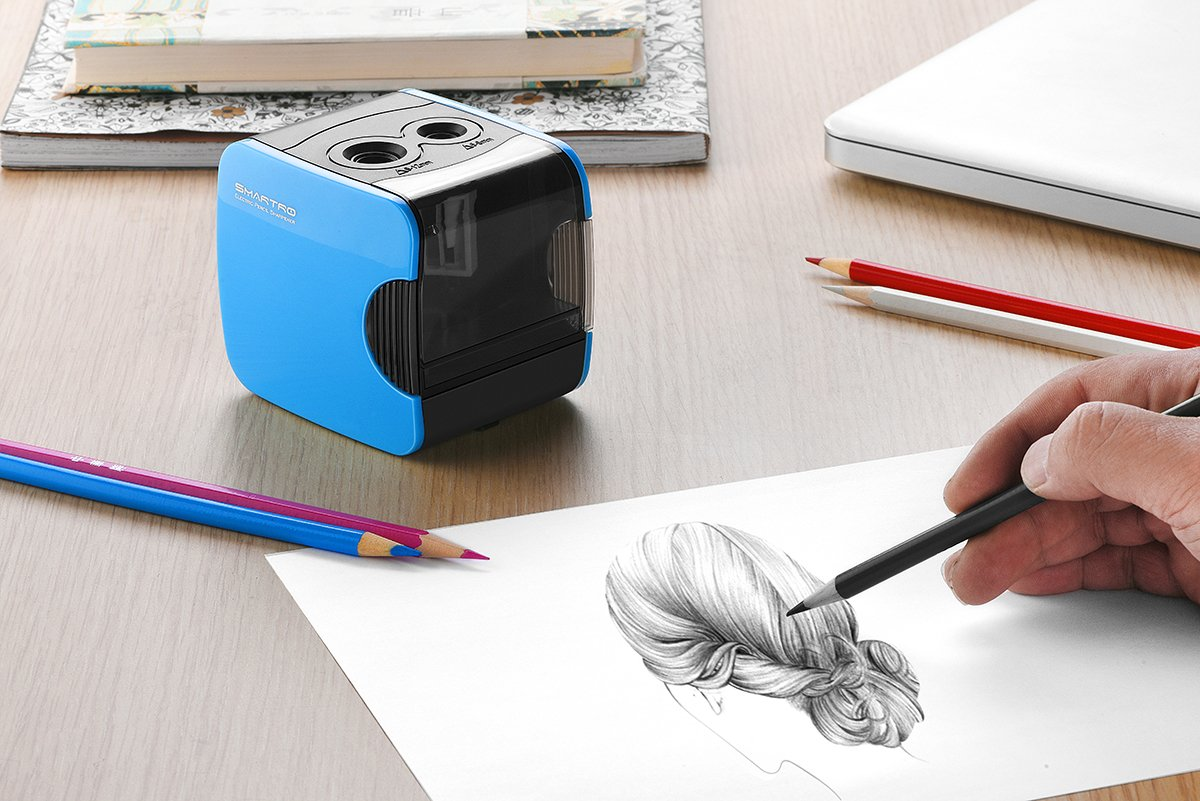Smartro Electric Pencil Sharpener Best Usb Or Battery